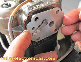 como asentar las valvulas de un compresor