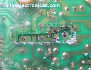 reparacion placa electronica de lavadora electrolux