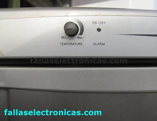 refrigerador coldex RN 36 no enfria abajo