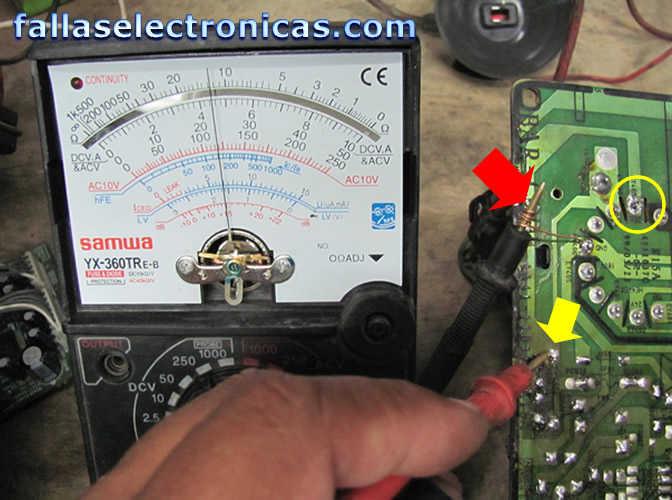 Tv philips se oye pero no se ve ese capacitor es asi o se for Mi televisor se escucha pero no se ve la imagen