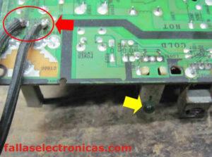 medicion de voltajes en placas samsung