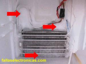 circuito electrico nevera lg