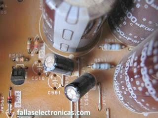 Falla push power protect error Sony se apaga