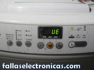 lavadora samsung error de ue no centrifuga c mo solucionar rh fallaselectronicas com manual lavadora samsung diamond drum wa95v9