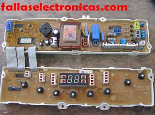 tarjeta electronica de lavadora lg