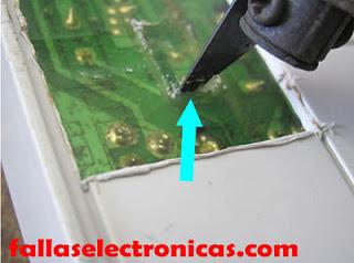 placa electronica de lavadora samsung