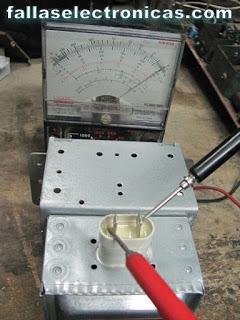 Reparar un magnetrón