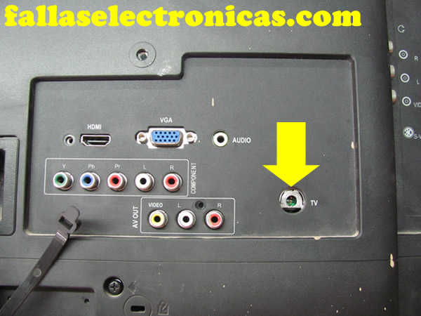 Entrada Conector De Antena Roto Fallaselectronicas Com