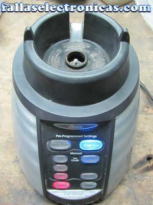 licuadora oster electronica no funciona