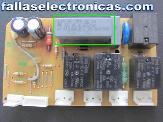 tarjeta elctronica refrigerador bosch