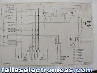 diagrama esquema refrigerador nevera bosch