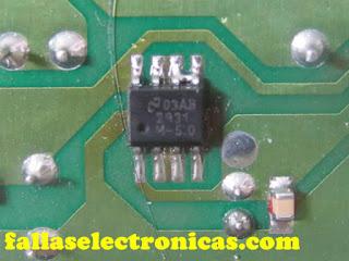 circuito electronico de nevera
