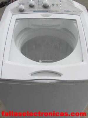 lavadora mabe no funciona