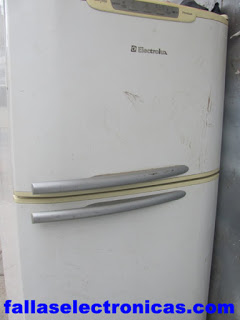nevera electrolux no enciende