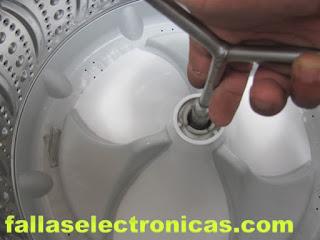 Desarmando lavadora MABE AQUA SAVER