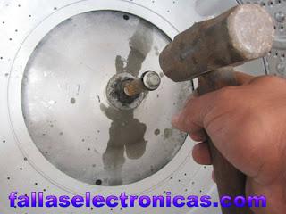 Cambio de trasmisión de lavadora amazonas