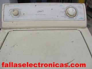 Lavadora Mabe no lava no centrifuga mantenimiento