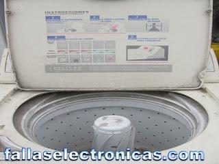 Mantenimiento de lavadoras mabe