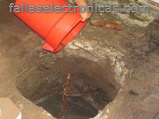 materiales para pozo a tierra