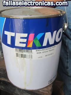 como preparar pintura epoxica