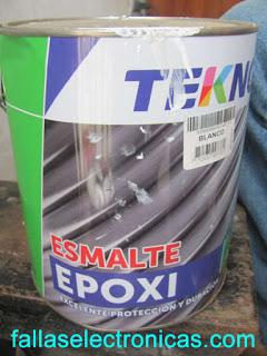 como revolver pintura epoxica
