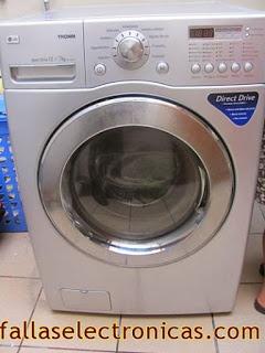 error pf lavadora lg tromm