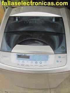 reparar error e5 lavadora mabe