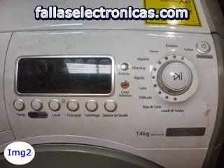 error 5e lavadora samsung