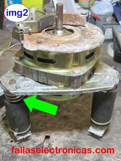 como reparar motor de centrifugado
