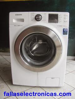 lavadora samsung no enciende
