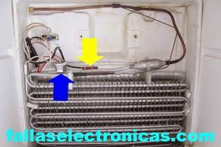 Diferencia entre fusible termico y bimetal de nevera no frost for Que es un consul