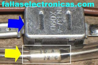 funcionamiento del fusible termico