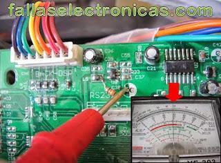falla en bascula electrónica accura