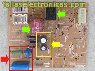 tarjeta electronica de nevera WRM41BB
