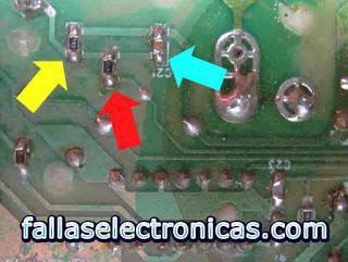 componentes placa electrónica electrolux