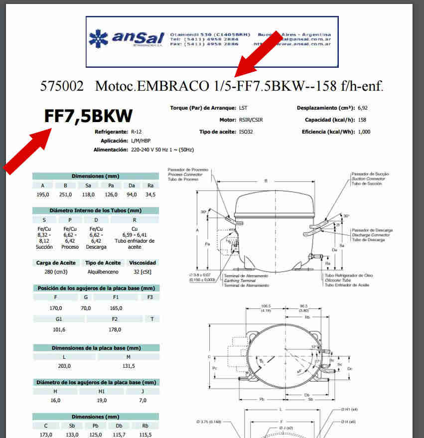 191 C 243 Mo Calcular El Hp De Compresor De Nevera Solucionado