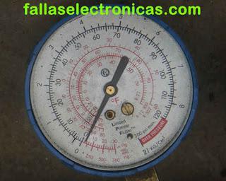R600a -1.5 psi en instrumento