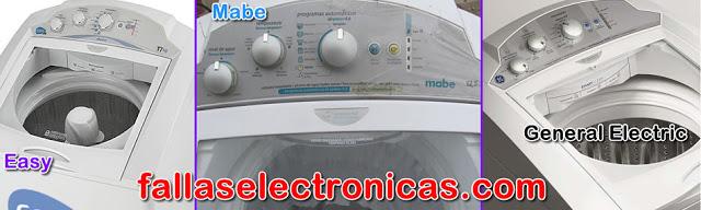 lavadora no lava